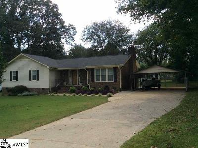 Greer SC Single Family Home For Sale: $179,900