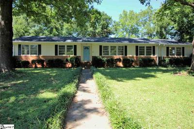 Greenville Single Family Home For Sale: 8 Howell