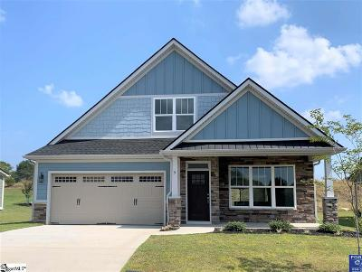 Taylors Single Family Home For Sale: 9 Bishop Lake #Lot 150