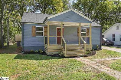 Greenville Single Family Home For Sale: 211 Maco
