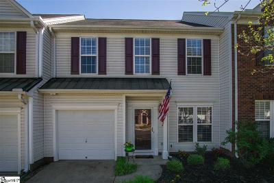 Mauldin Condo/Townhouse For Sale: 266 Hadley Commons