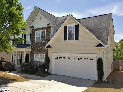 Simpsonville Single Family Home For Sale: 6 Cartecay