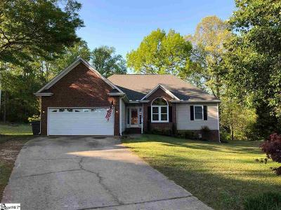 Fountain Inn Single Family Home Contingency Contract: 229 Flagstar