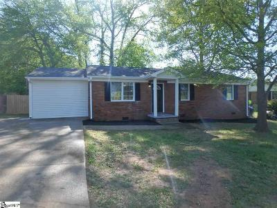 Greenville Single Family Home Contingency Contract: 4 Blossom