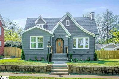 Greenville Single Family Home Contingency Contract: 309 Wilton