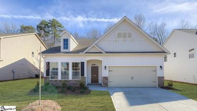 Boiling Springs Single Family Home For Sale: 937 Deepwood #Lot 36