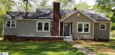 Greenville Single Family Home For Sale: 7 Eastview