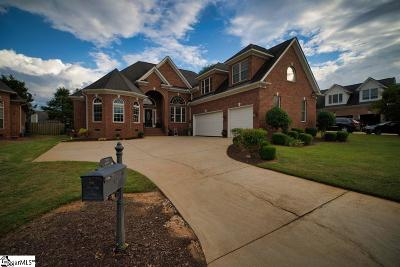 Simpsonville Single Family Home For Sale: 22 Ruby Lake