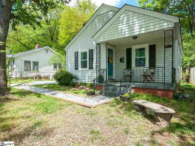 Greenville Single Family Home Contingency Contract: 314 Sycamore