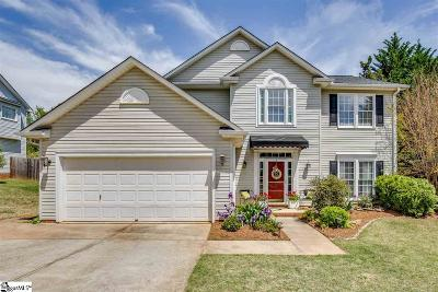Mauldin Single Family Home Contingency Contract: 5 Fawn Ridge