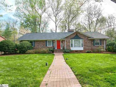 Greenville Single Family Home For Sale: 34 Valerie