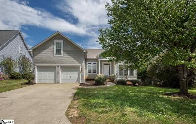Simpsonville SC Single Family Home For Sale: $192,500