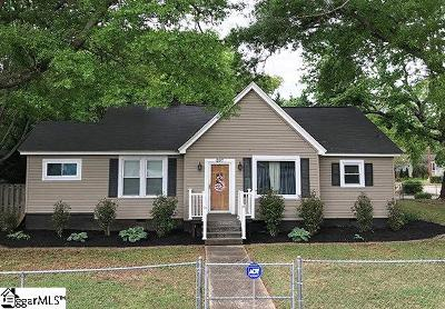 Greenville SC Single Family Home For Sale: $174,900