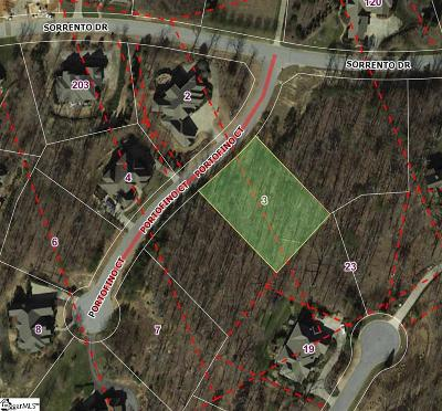 Greenville Residential Lots & Land For Sale: 3 Portofino