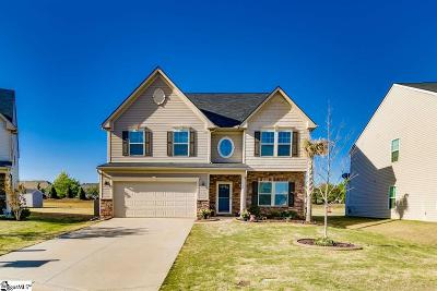 Simpsonville SC Single Family Home For Sale: $279,000