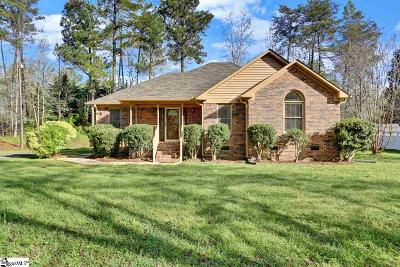 Travelers Rest Single Family Home Contingency Contract: 116 Cox Worth