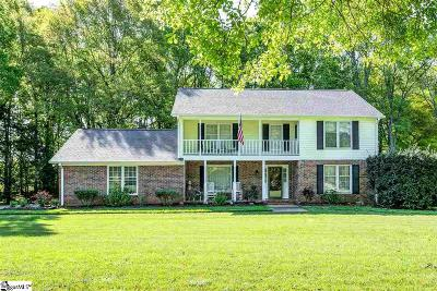 Simpsonville Single Family Home For Sale: 202 Pecan Hill
