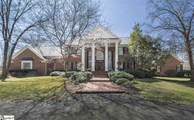 Simpsonville Single Family Home For Sale: 100 Asheton