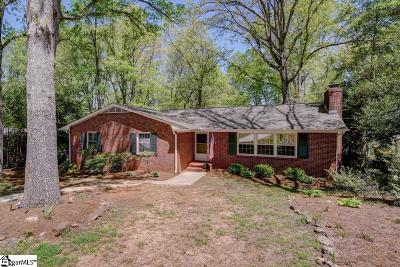 Greenville SC Single Family Home For Sale: $242,500
