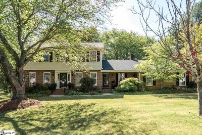 Simpsonville Single Family Home For Sale: 304 Pecan Hill