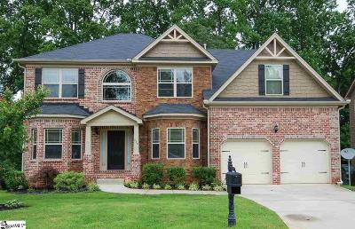 Simpsonville Single Family Home For Sale: 240 Dairwood