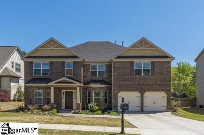 Greer Single Family Home For Sale: 545 Horton Grove
