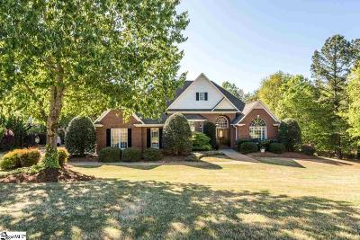 Spartanburg Single Family Home For Sale: 857 Oakcrest