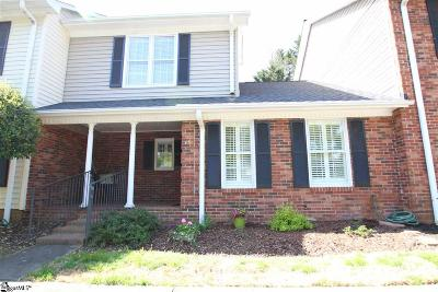 Spartanburg Condo/Townhouse For Sale: 15 Somersett