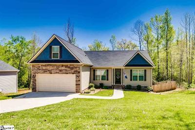 Piedmont Single Family Home For Sale: 112 Josie Creek