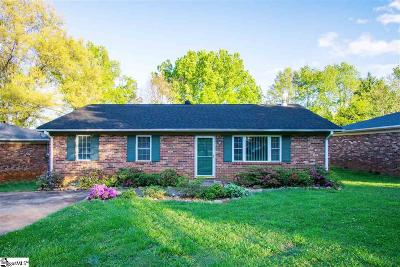 Greenville Single Family Home For Sale: 8 Bradley