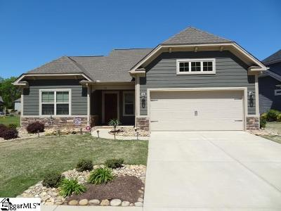 Fountain Inn Single Family Home For Sale: 25 Donemere