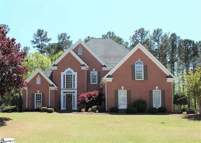 Simpsonville Single Family Home For Sale: 309 Weatherstone