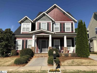 Simpsonville Single Family Home For Sale: 109 Farm Mill