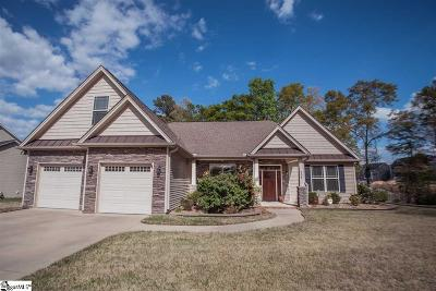 Simpsonville Single Family Home For Sale: 204 Leigh Creek