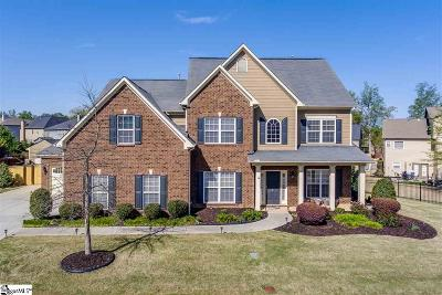 Simpsonville Single Family Home For Sale: 4 Roanoke Hills