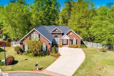 Greer Single Family Home For Sale: 310 Saint Croix
