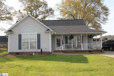 Boiling Springs Single Family Home Contingency Contract: 648 Cotton Branch
