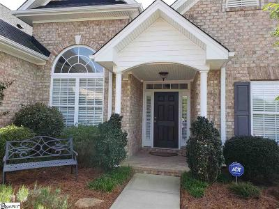 Simpsonville Single Family Home For Sale: 2 Cedarcrest