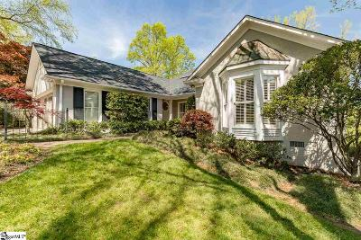 Greenville SC Single Family Home For Sale: $624,605