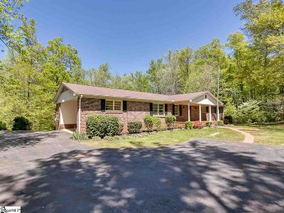 Inman Single Family Home For Sale: 111 Valleydale