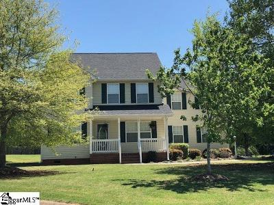 Inman Single Family Home For Sale: 705 Grace Valley