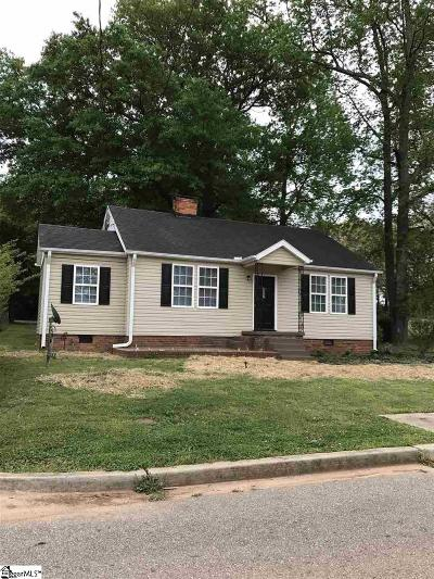 Greenville Single Family Home Contingency Contract: 402 Furman