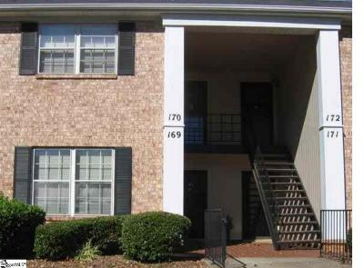 Greenville Condo/Townhouse For Sale: 925 Cleveland #Unit #17