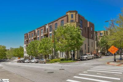 Greenville Condo/Townhouse For Sale: 112 W Broad #Unit 405