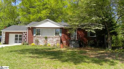 Greenville Single Family Home For Sale: 38 Long Forest