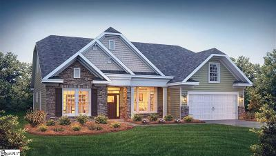 Inman Single Family Home For Sale: 708 Ridgeville Crossing #Lot 75
