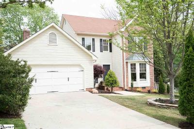 Greenville Single Family Home Contingency Contract: 15 Old Taylor