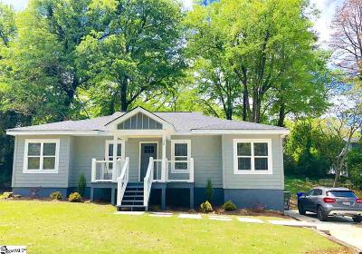 Greenville SC Single Family Home For Sale: $305,000
