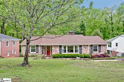 Greenville Single Family Home For Sale: 10 Coventry