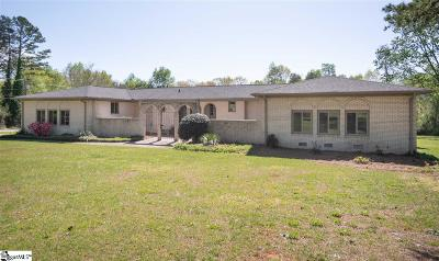 Greenville Single Family Home For Sale: 101 Dundee